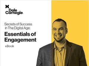 Secrets of Success Dale Carnegie Guide cover