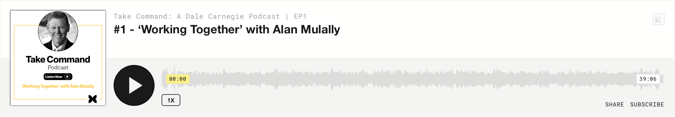 Take Command: Alan Mulally - Episode 1